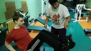 Если болят СУСТАВЫ....вторая неделя тренировок(если испытуете дискомфорт...не делайте это упражнение...или делайте с меньшей амплитудой., 2014-12-23T13:46:59.000Z)