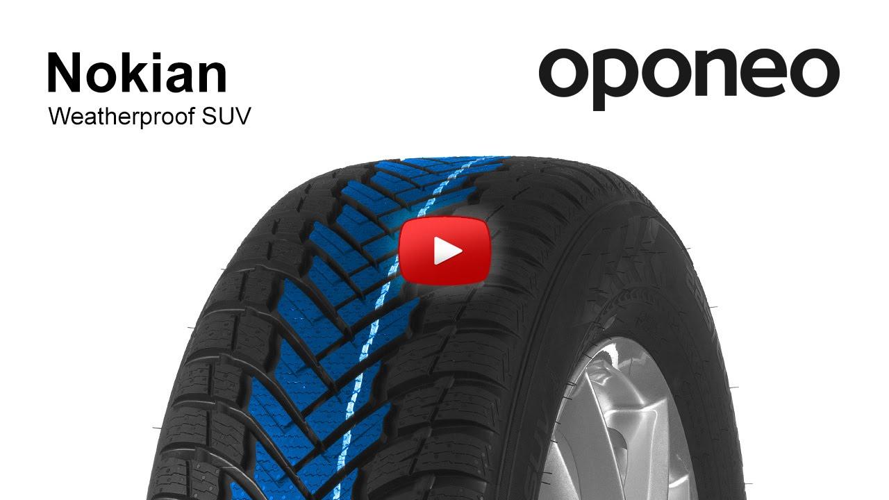 tyre nokian weatherproof suv all season tyres oponeo youtube. Black Bedroom Furniture Sets. Home Design Ideas