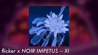flicker x NOIR IMPETUS – XI