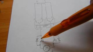 Схема реверса моторчика 12в