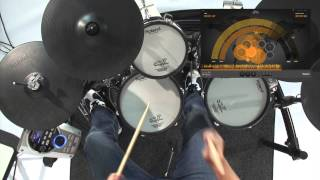Roland V-Drums Friend Jam performance with Craig Blundell - Lazy Funk