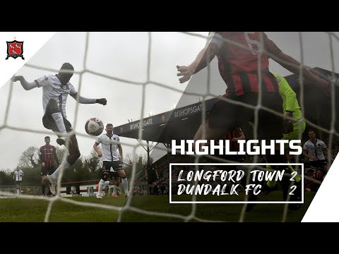 Highlights | Longford Town 2-2 Dundalk FC