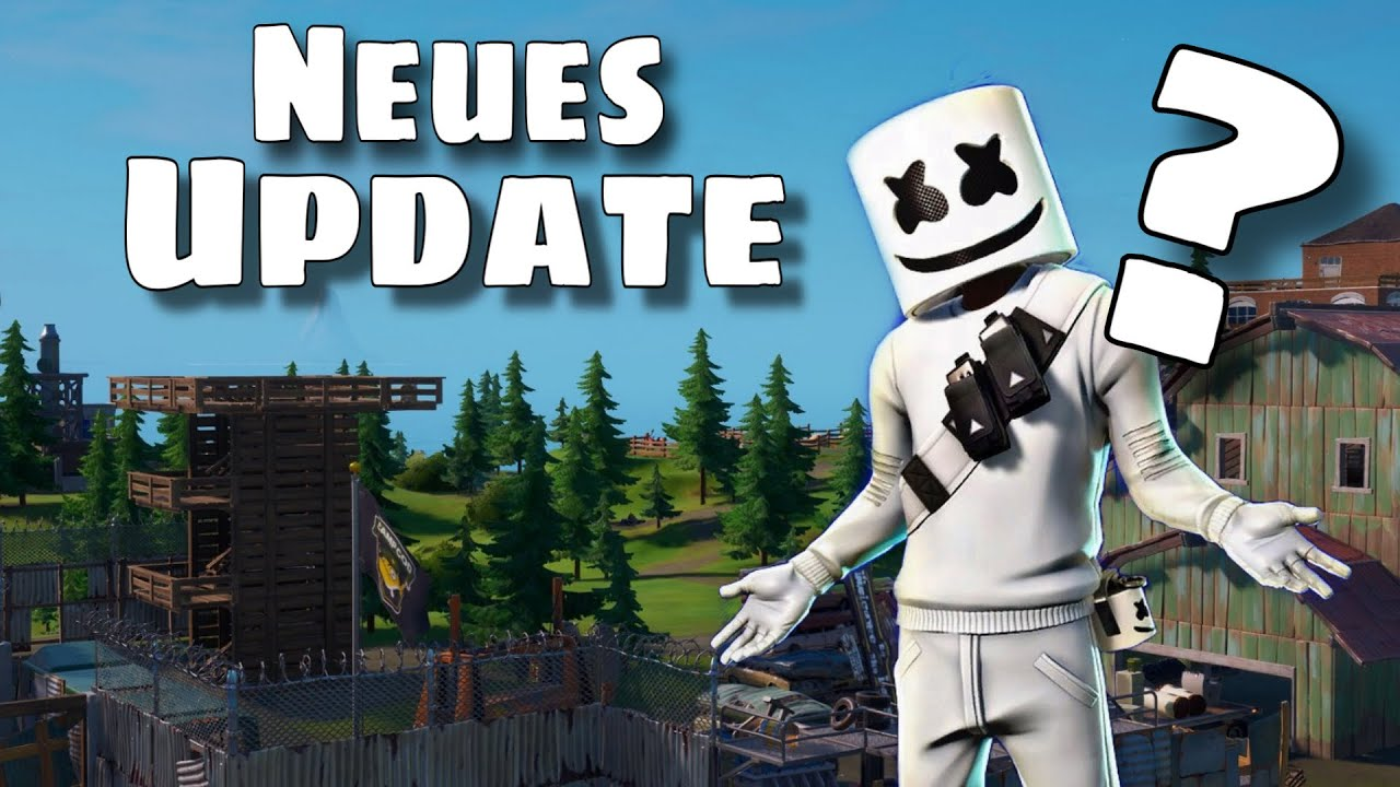 Fortnite Neues Update