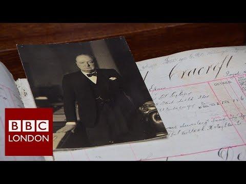 Winston Churchill's Saville Row tailor – BBC London News