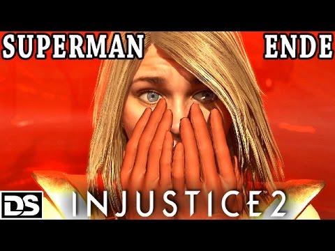Injustice 2 Gameplay German PS4 - Superman Ende/Böses Ende - Let