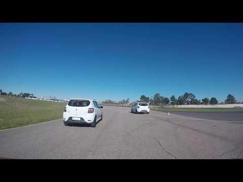 Lanzamiento Renault Sandero R.S. 2.0 (on board en El Pinar) | Autoblog Uruguay
