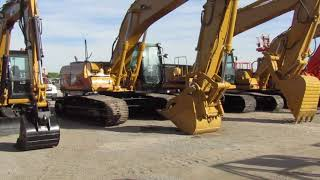 Video still for Lino Leon Tests Cat Excavator at Alex Lyon Las Vegas Auction