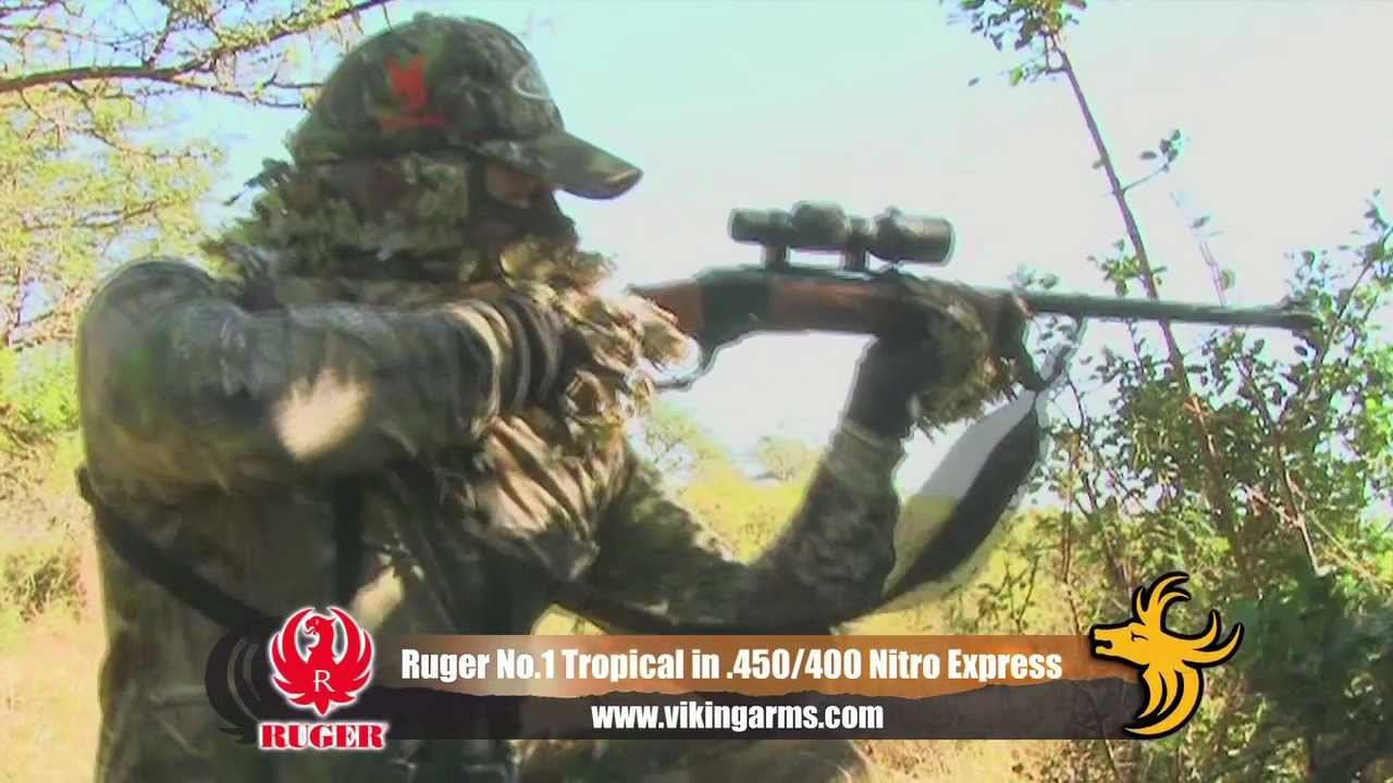 rifle review ruger no 1 tropical in 450 400 nitro express youtube