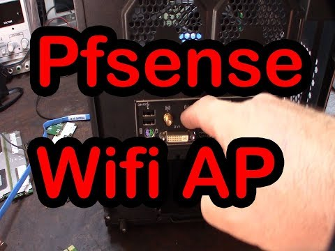 pfsense Wireless Access Point AP mode Atheros onboard network card Sophos UTM wifi router