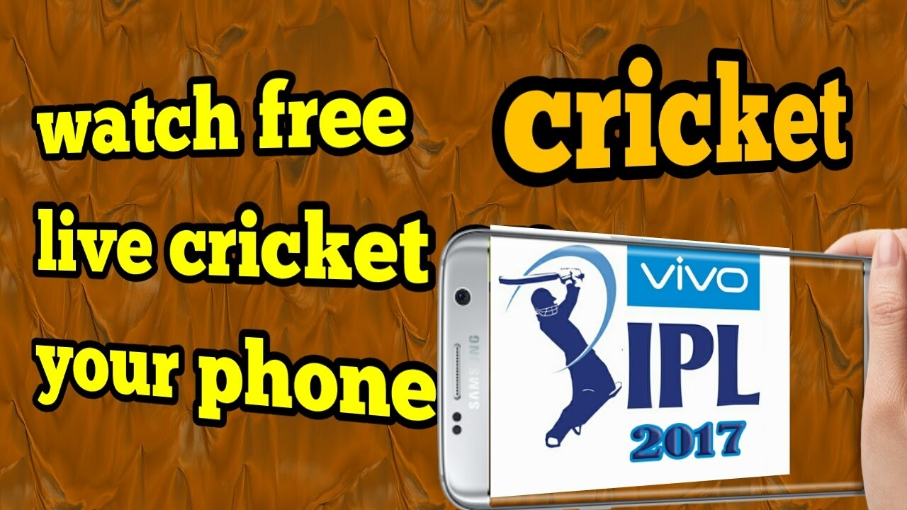 Watch Cricket Live On Your Smartphone For Free