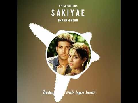 Sakiyae BGM - Dhaam Dhoom😍 | Cute Dubsmash & Ringtone
