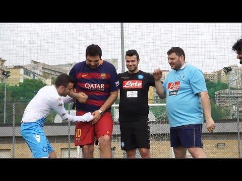 NO-LOOK FOOTBALL CHALLENGE EPICA !!!!   SPECIALE 50 MILA ISCRITTI !!!! CON FIUSGAMER & TONYTUBO