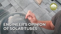 Are Solar Tubes Worth It?:More pragmatic than a skylight?