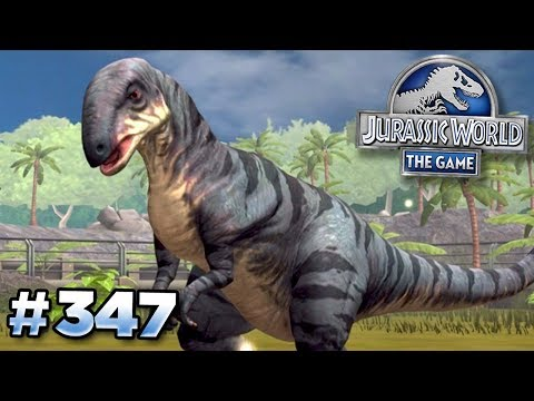 The New Dinosaur EOLAMBIA!! || Jurassic World - The Game - Ep347 HD