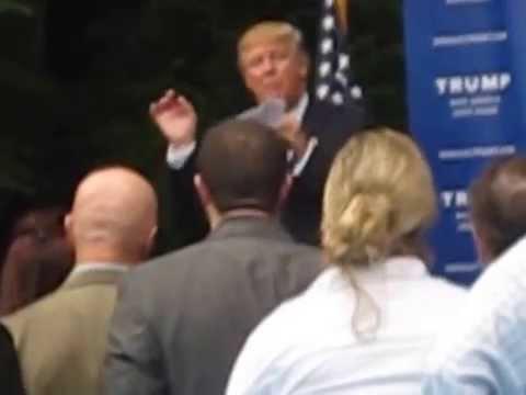 Donald Trump - Bedford, NH - 6/30/2015