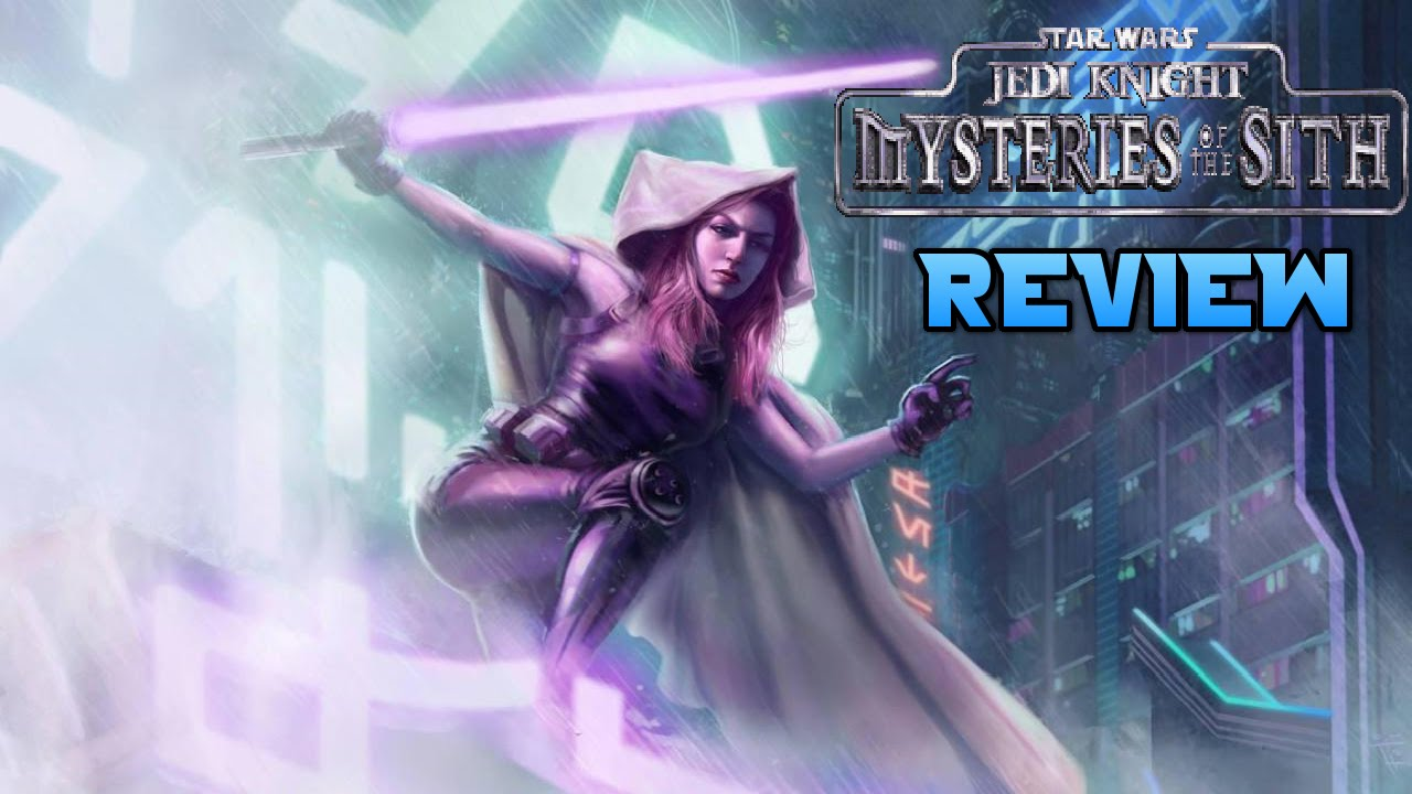 Star Wars Jedi Knight Mysteries Of The Sith Review Youtube
