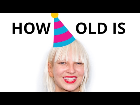 How old is Sia? 🍰🎈