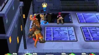TMNT 3 : Mutant Melee (PC) [RUS] Multiplayer (1x1) - XGForce VS Ivan Petrechuk