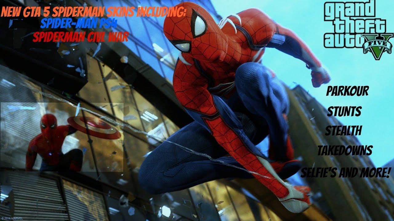 Gta Spiderman Mod