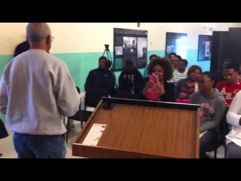 Hollis Watkins Teaches Freedom Songs