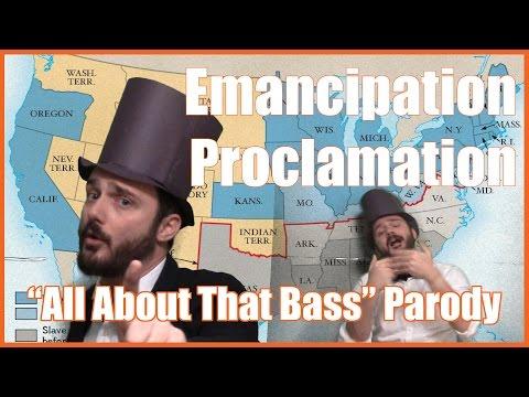 """Emancipation Proclamation (""""All About That Bass"""" Parody) - @MrBettsClass"""