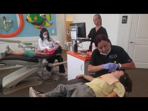 Dentist. 2.10 yrs Kai, 7 years Jahiah