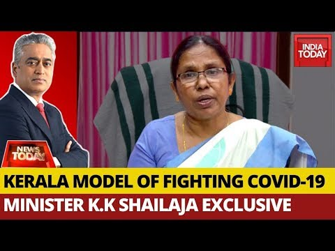 K.K Shailaja Exclusive On Kerala Model Of Fighting COVID19, Lockdown Exit  | News Today With Rajdeep