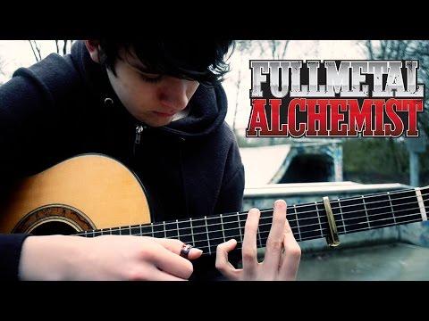 FullMetal Alchemist OP 1  Again  Yui Fingerstyle Guitar   Eddie van der Meer