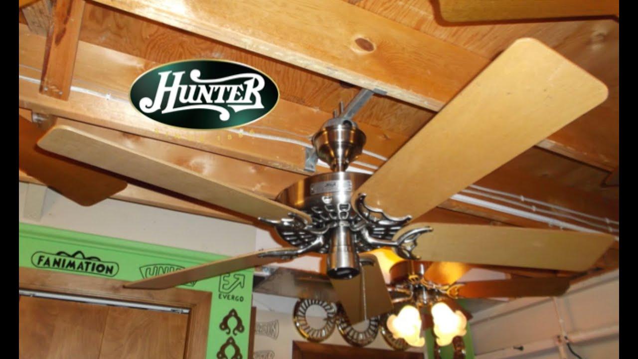 Hunter original ceiling fan youtube hunter original ceiling fan aloadofball Gallery
