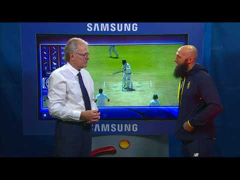 South Africa vs Bangladesh - Touch screen analysis with Hashim Amla