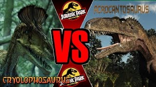 Cryo Vs Acro (Hard)| Warpath: Jurassic Park PS1 (DINOSAUR GAME)| Carlos1416 Dinosaur