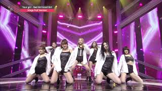 [MIXNINE(믹스나인)] Your girl _ Bad Girl Good Girl(miss A(미스에이)) (Stage Full Ver.)