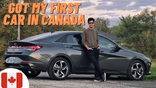 🇨🇦GOT MY FIRST CAR IN CANADA || FEATURES AND MY EXPERIENCE |