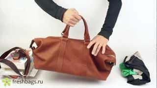 Дорожно-спортивная сумка Hadley RedWood из кожи - www.FreshBags.ru