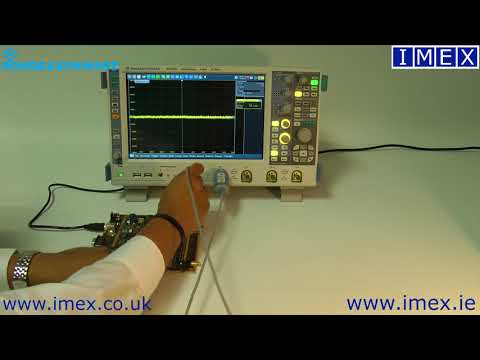 Rohde And Schwarz RT-ZD40 Active Differential Probe Demo