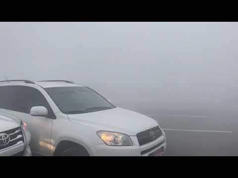 Major accident in Dubai because of fog in early morning 1