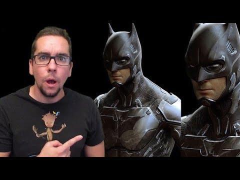 More Early Batman Concept Art Surfaces Showing High-Tech Batsuit