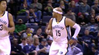 Vintage vince carter spins to a 360 reverse lay-up! | 01.25.17