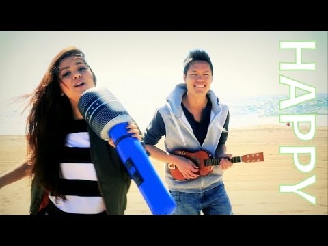 Happy - Pharrell Williams (Alyssa Bernal & Anthony Shay Official Music Video Cover)