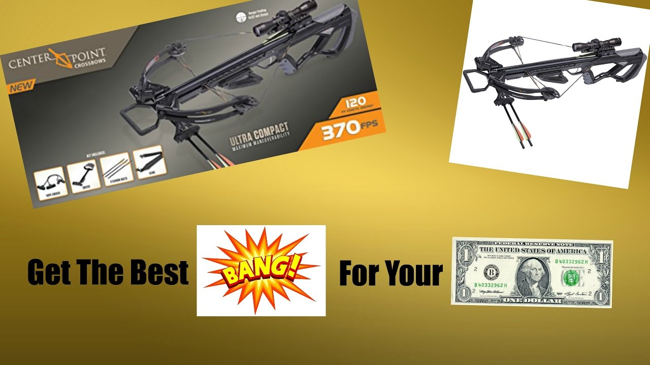 CenterPoint Terminator 370 Crossbow Unboxing | Get this ...