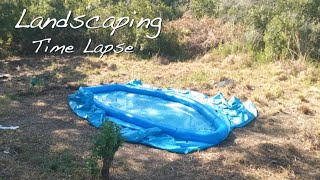 Landscaping Time Lapse