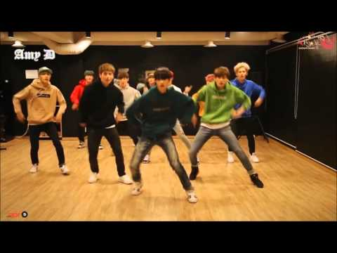 UP10TION 'Catch me!' Mirrored Dance Practice Hoodie