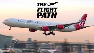 London Heathrow Airport Arrivals on RWY09L 19/01/2016