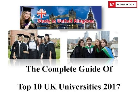 Top 10 UK Universities 2017
