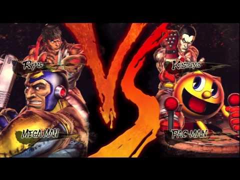 Street Fighter X Tekken Megaman Vs Pacman HD