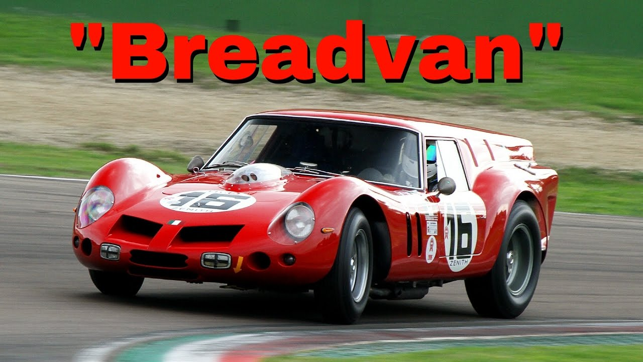 One Off Ferrari 250 Gt Swb Breadvan 1961 Accelerations Fly Bys Pure V12 Sound Youtube