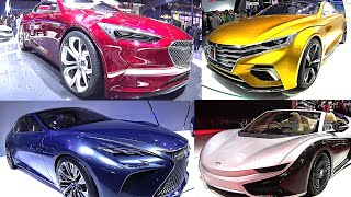 TOP 6 berlines CONCEPT 2016 Nissan IDS 2017, Avista Buick, Lexus LF-FC, Roewe Vision-R, K50
