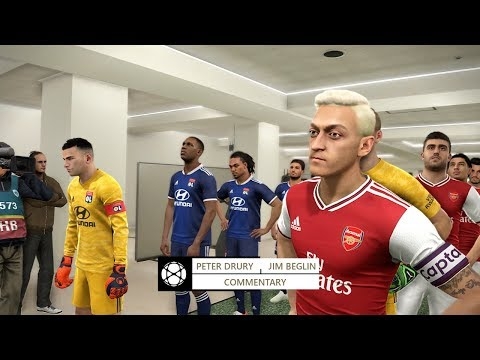 PES 2019 | Arsenal Vs Lyon 28 July 2019 Gameplay
