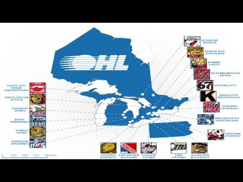 The History Of All OHL Teams Names and Logos