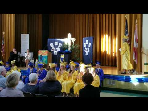 Cathedral Parish School 2017 Valedictorian and Salutorian Speeches